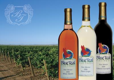 Blue Teal Vineyards